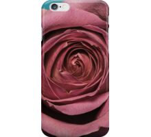 Altered colour Rose macro iPhone Case/Skin