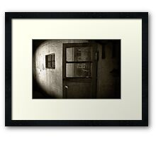 Abandoned and Haunted Framed Print