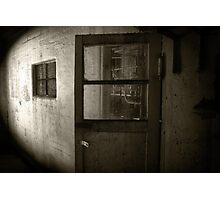 Abandoned and Haunted Photographic Print