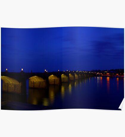 Market Street Bridge-Harrisburg, PA Poster