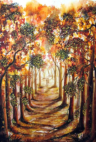 Trees by Linda Callaghan