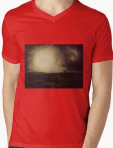 Moor Pony Mens V-Neck T-Shirt