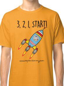 Capitan Timmy - 3, 3, 1, Start Classic T-Shirt