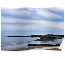 A Swirl Of Clouds ~ Lyme Regis Poster