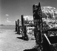 Cadillac Ranch-Texas by Desertwayfarer