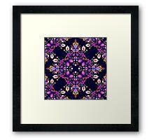 Mexican Folk pattern Framed Print