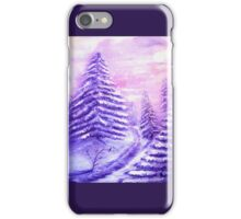 Christmas Snow iPhone Case/Skin