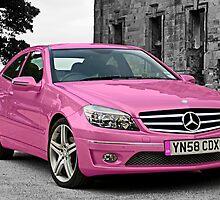 Pink Merc by ShaunDaysh