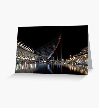 New Bridge Under Constuction - CAC - 2008 Greeting Card