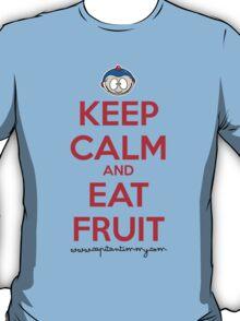 Capitan Timmy - Keep Calm and Eat Fruit T-Shirt