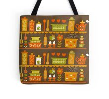 Lets Cook at Home Tote Bag
