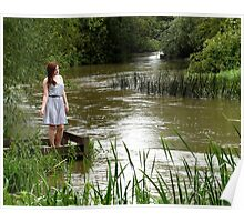 Strong River Flows Poster