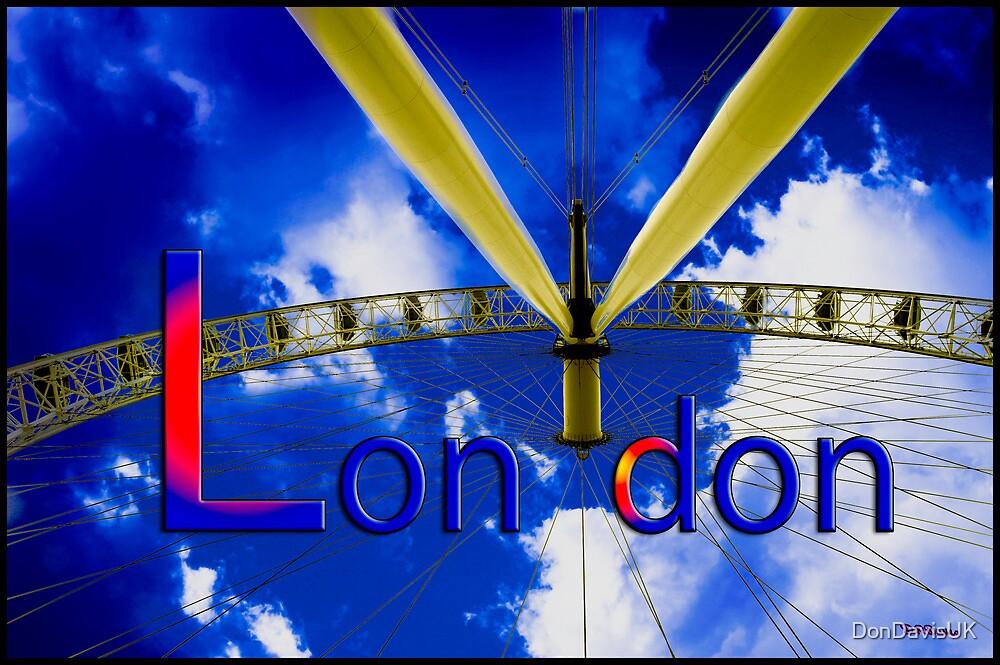 London: London Eye by DonDavisUK