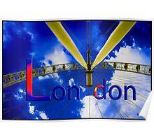 London: London Eye Poster