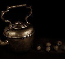 Antique Teapot by Jeffrey  Sinnock