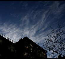sky over 22nd st, nyc by mark drago