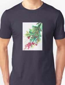 Christmas Holly T Shirt T-Shirt