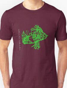 Fish Stamped T-Shirt