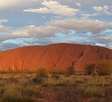 Uluru (also known as Ayers Rock) sunset - central australia by LenitaB
