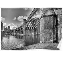 Castlefield Railway Bridge Poster