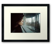 see past yourself Framed Print