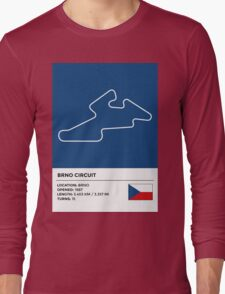 Brno Circuit Long Sleeve T-Shirt