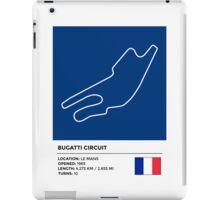 Bugatti Circuit - v2 iPad Case/Skin