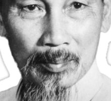 Ho Chi Minh Portrait Sticker