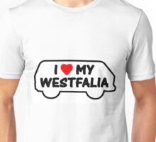 T3 westfalia logo Unisex T-Shirt