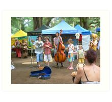 Bangalow Market Music Art Print
