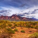 Superstition Mountains-2 by George Lenz