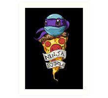 Ninja Squirtle Donatello Art Print