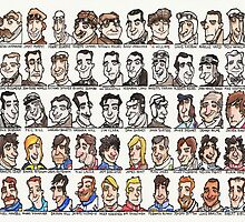Sixty Grand Prix winning drivers, 1906 - present by dotmund