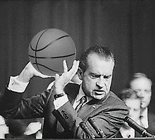 Nixon Basket ball  by Ryan  Cromley