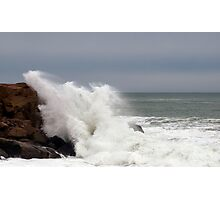 The Raging Sea Photographic Print