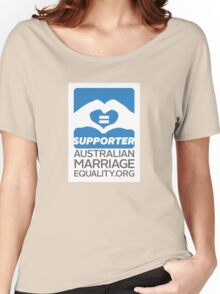 Australian Marriage Equality Supporter Women's Relaxed Fit T-Shirt