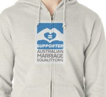 Australian Marriage Equality Supporter Zipped Hoodie