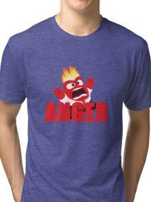 Anger Inside out Tri-blend T-Shirt