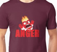 Anger Inside out Unisex T-Shirt
