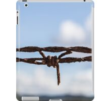 The barbed wire iPad Case/Skin