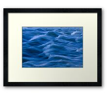 Slow Water Framed Print
