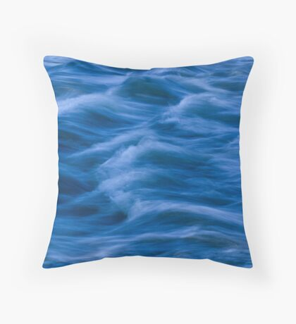 Slow Water Throw Pillow