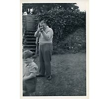 Juvenile Delinquent With Gun 1958 - The Final Chapter Photographic Print