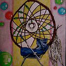 """""""Dreamcatcher -  but I have HORRIBLE dreams."""" by Dan Rychlec"""
