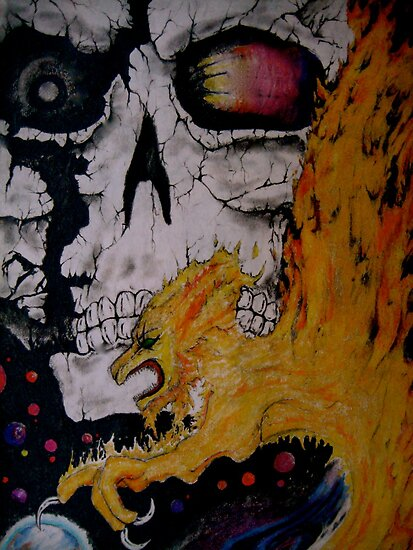 """""""Devour All You Cannot Burn"""" by Dan Rychlec"""