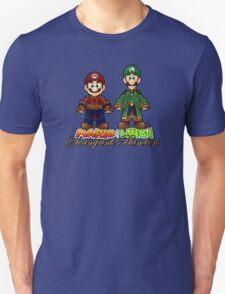 Super Mario Bros Steampunk Plumber Unisex T-Shirt