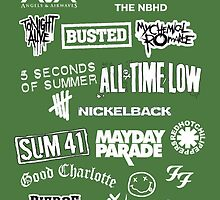 Bands, green by wedesign47