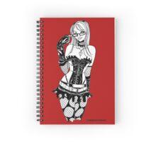 Goth Girl Spiral Notebook