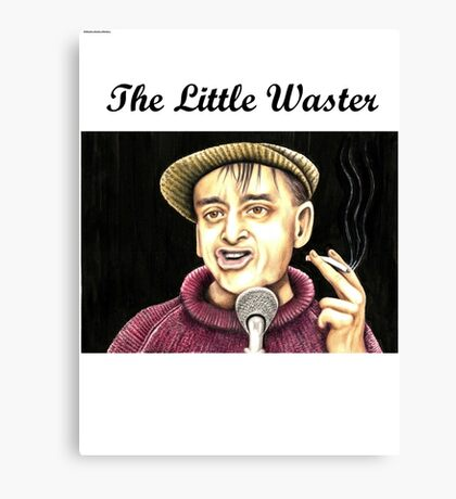 Bobby Thompson : The Little Waster Canvas Print