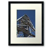 Leaning Tower of Gin Gin Framed Print
